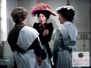 Mrs. Pearce follows instructions to bathe Eliza Doolittle.