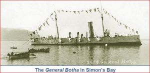General Botha in Simon's Bay