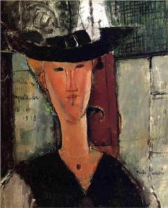 Madame Pompadour by Amedeo Modigliani, 1914.