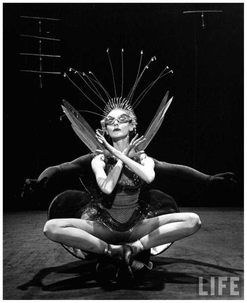 Tanaquil Le Clercq in New York City Ballet Production of Kafka's Metamorphosis, 1953