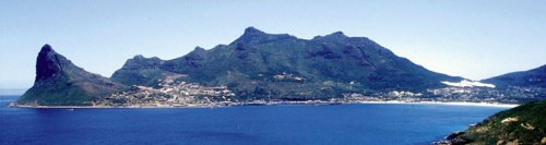The Cape Peninsula, South Africa, where Cape Town is located