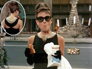 Audrey Hepburn as Holly Golightly in 1961 film, Breakfast at Tiffany's