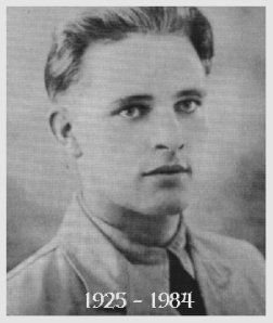 Burton served as a navigator during WW2 in the British RAF. Here is shown as a RAF cadet, age 18.