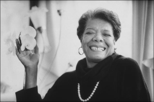 Maya Angelou (Undated photo)