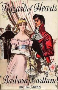 A Hazard of Hearts (1948) by Barbara Cartland