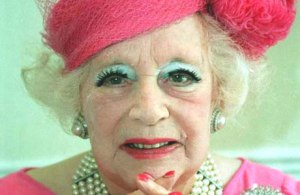 Barbara Cartland up close and personal