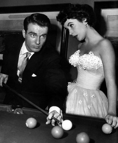 "Elizabeth Taylor and Montgomery Clift in ""A Place in the Sun."" (1952)"