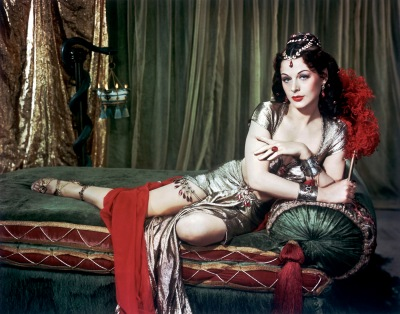 "Hedy Lamarr in ""Samson and Delilah,"" 1949. Costumes by Edith Head."