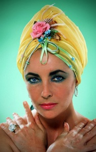 Elizabeth Taylor, age 44, the year she married John Warner. April 1976. Photo: Henry Wynberg