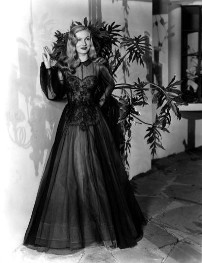 "Veronica Lake in ""I Married a Witch,"" 1942. Costumes by Edith Head."