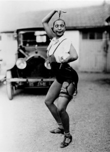 Gorgeous, talented, and funny Josephine Baker, an original. Undated photo, ca. 1930