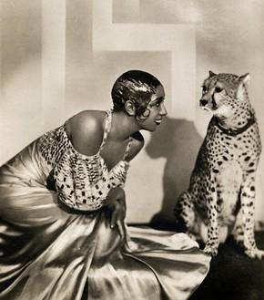 josephine baker's leopard | Lisa's History Room Josephine S
