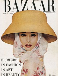 In the 1950s, Audrey Hepburn's face was plastered on magazines across the globe. She was a big hit. She was fresh. Harper's Bazaar, 1956