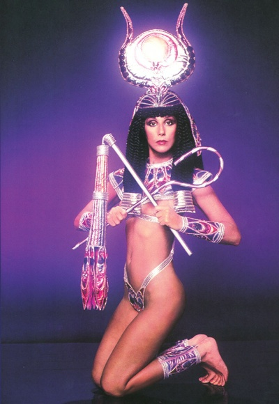 Cher 1975 B Mackie for tv special