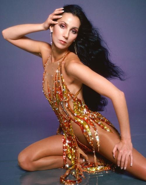 Cher B Mackie fire costume