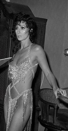 Cher dripping Bob Mackie