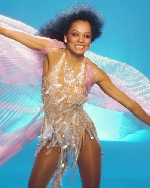 Diana Ross in B Mackie short