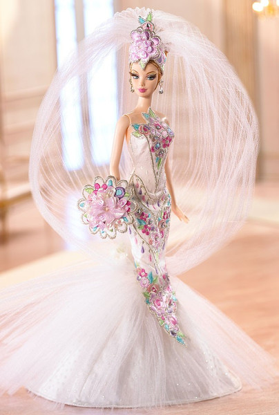 Couture Confection Bride Barbie is classy.
