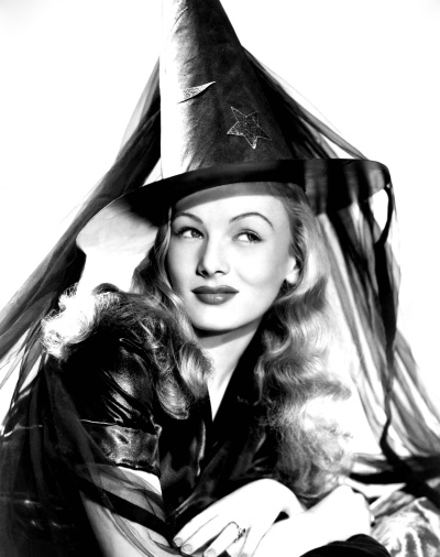 "In ""I Married A Witch,"" Veronica Lake plays a witch burned in the Salem witch trials, out to seek revenge."