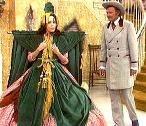 "Carol Burnett and Harvey Korman as ""Starlet and Ratt"" in comic sketch, ""Went With the Wind."" (1976)"