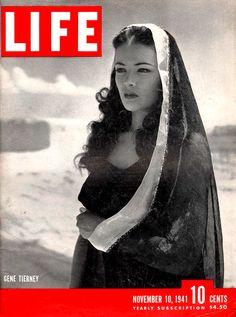 Gene T Life Mag Nov. 10, 1941 Shanghai Gesture wardrobe