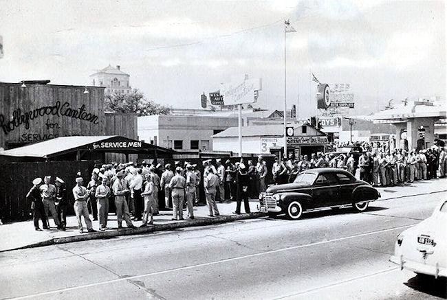 history of hollywood california