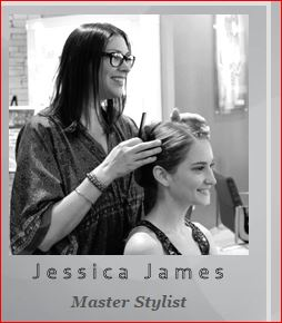 Jessica James at Jose Luis Salon, Austin, Texas.