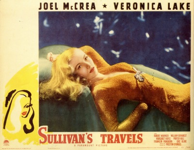 Note the doodle in the bottom left of the poster. It is instantly recognizable as Veronica Lake.
