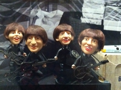 Bobble headed Beatles